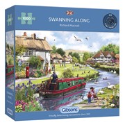 Gibsons Swanning Along Puzzle 1000pc (G6288)