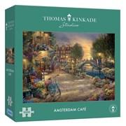 Gibsons Thomas Kinkade Amsterdam Cafe Puzzle 1000pc (G6308)
