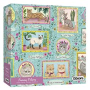 Gibsons Famous Felines Puzzle 1000pc (G6603)