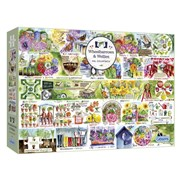 Gibsons Wheelbarrows & Wellies Puzzle 1000pc (G7106)