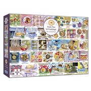 Gibsons Pork Pies & Puddings Puzzle 1000pc (G7107)