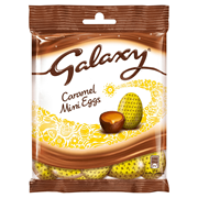 Galaxy Chocolate Caramel Mini Eggs Bag 80g (297235)