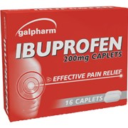 Galpharm Ibuprofen Caplets 16s (GIC)