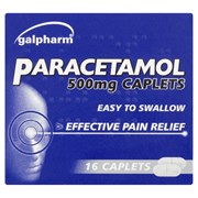 Galpharm Paracetamol Caplets 16s (GPC)