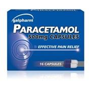 Galpharm Paracetamol Capsules 16s (GPCS)