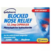 Galpharm Blocked Nose Relief 12s (GBNR)