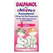 Galpharm Childrens Paracetamol Suspension 100ml (GCP)