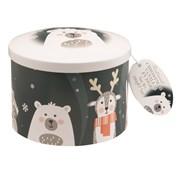 Festive Friends Tin Of Vanilla Fudge 200g (GD581)