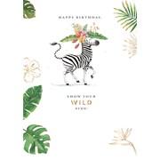 Wild Side Card (GH1024W)