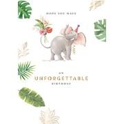 Unforgettable Birthday Card (GH1027W)