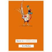 Fabulous Pheasant B/day Card (GH1059)