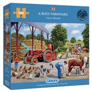 Gibsons A Busy Farmyard Puzzle 500pc (G3136)