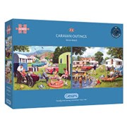 Gibsons Caravan Outings Puzzles 2x 500pc (G5057)