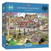 Gibsons Daffodils & Ducklings Puzzle 1000pc (G6319)