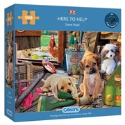 Gibsons Here To Help Puzzle 500pc (G3134)