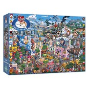 Gibsons I Love Great Britain Jigsaw Puzzle 1000pc (G469)