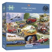 Gibsons Iconic Engines 1000pc (G6293)