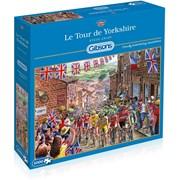 Gibsons Le Tour de Yorkshire Jigsaw Puzzle 1000pc (G6205)