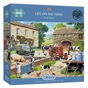 Gibsons Life On The Farm Puzzle 1000pc (G6304)