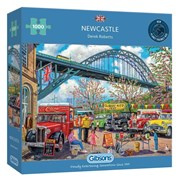 Gibsons Newcastle Puzzle 1000pc (G6313)