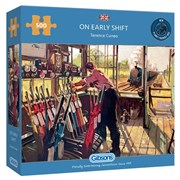 Gibsons On Early Shift Puzzle 500pc (G3135)