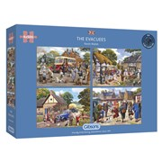 Gibsons The Evacuees Puzzles 4x 500pc (G5056)