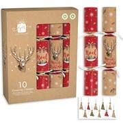 "Giftmaker Crackers Kraft Stag 10x12"" (XALGS507)"