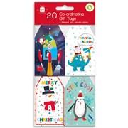 Giftmaker Festive Fun Gift Tags 20s (XALGT1036)