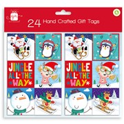 Giftmaker H/crafted Novelty Gift Tags 24s (XALGT201)