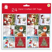 Giftmaker H/crafted Traditional Gift Tags 24s (XALGT202)