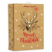 Giftmaker Kraft Christmas Gift Bag X/lge (XALGB12X)