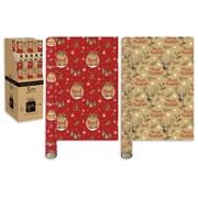 Giftmaker Kraft Christmas Roll Wrap 3mt (XALGW152)