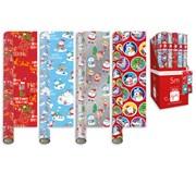 Giftmaker Novelty Cute Roll Wrap 5mt (XALGW101)