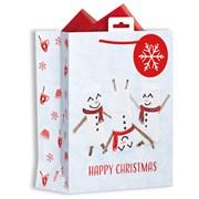 Giftmaker P/graphic Marshmallow Gift Bag Medium (XALGB60M)