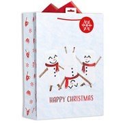 Giftmaker P/graphic Marshmallow Gift Bag X/lge (XALGB60X)
