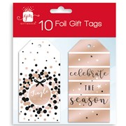 Giftmaker Rose Gold Gift Tags 10s (XAKGT1040)
