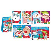 Giftmaker Santa & Friends School Pack Cards 32s (XALGC400)