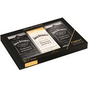 Jack Daniels Trio Of Milk Choc Bars With Liqueur 300g (GK512)