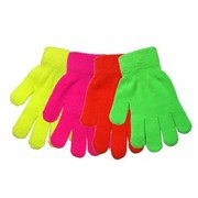 Kids Neon Magic Gloves (GL102)