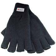 Mens Thinsulate Fingerless Gloves (GL131BK)