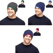 rjm Mens Reversible Beanie Hat (GL226)