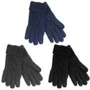 Mens Knitted Gloves (GL394)