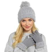 Ladies Lurex Cuffed Gloves (GL590)