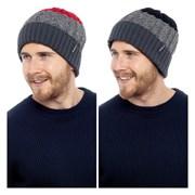 rjm Mens Striped Thinsulate Hat (GL614)