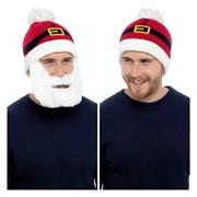 rjm Mens Santa Beard Hat (GL617)