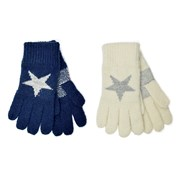 Ladies Star Design Gloves Asst (GL847)