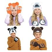rjm Kids Animal Hat & Mitten Set (GL900)