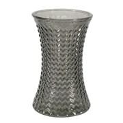 Geometric Hand Tied Vase Dove Grey 19.8cm (GLA3089)