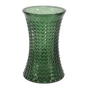 Geometric Hand Tied Vase Pear Green 19.8cm (GLA3090)