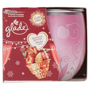 Glade Candle Spiced Apple Pmp 2.49 (79222)